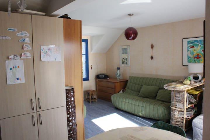 Grand studio à l'entrée de la presqu'île - Le Croisic - Daire