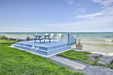 Lake Ontario Waterfront Cottage w/ Deck+Grill