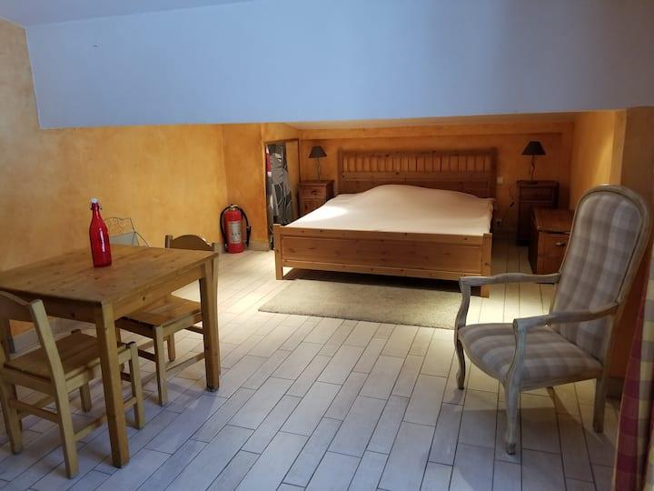 Studio meublé à Saint Nicolas la Chapelle(73590)AR