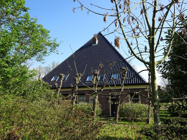 Amsterdam, Zaanse Schans, authentic  Farm House