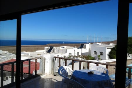 Pool and Ocean view in Aguas Verdes - Betancuria