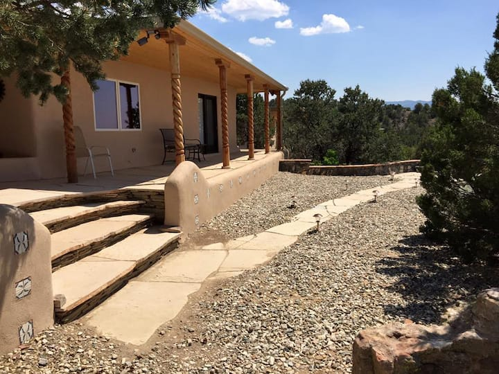Escape To A Retreat in the Taos Foothills