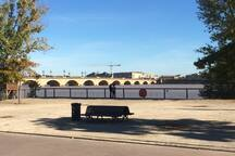 les quais de Garonne pour de belles promenades.