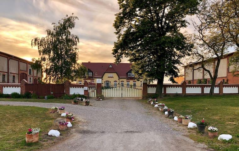 Ferienwohnung im Bauernhaus-Boiensdorf am Salzhaff