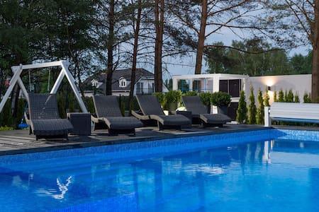 Luksusowy apartament 4 osobowy 350 m od morza - Dabki k Koszalina