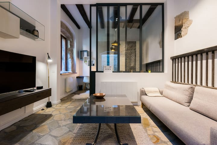 Design flat in the very center of Annecy - Annecy - Apartment