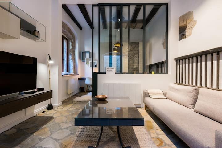 Design flat in the very center of Annecy