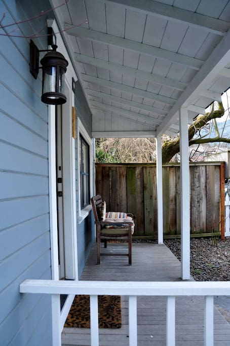 Earth front deck