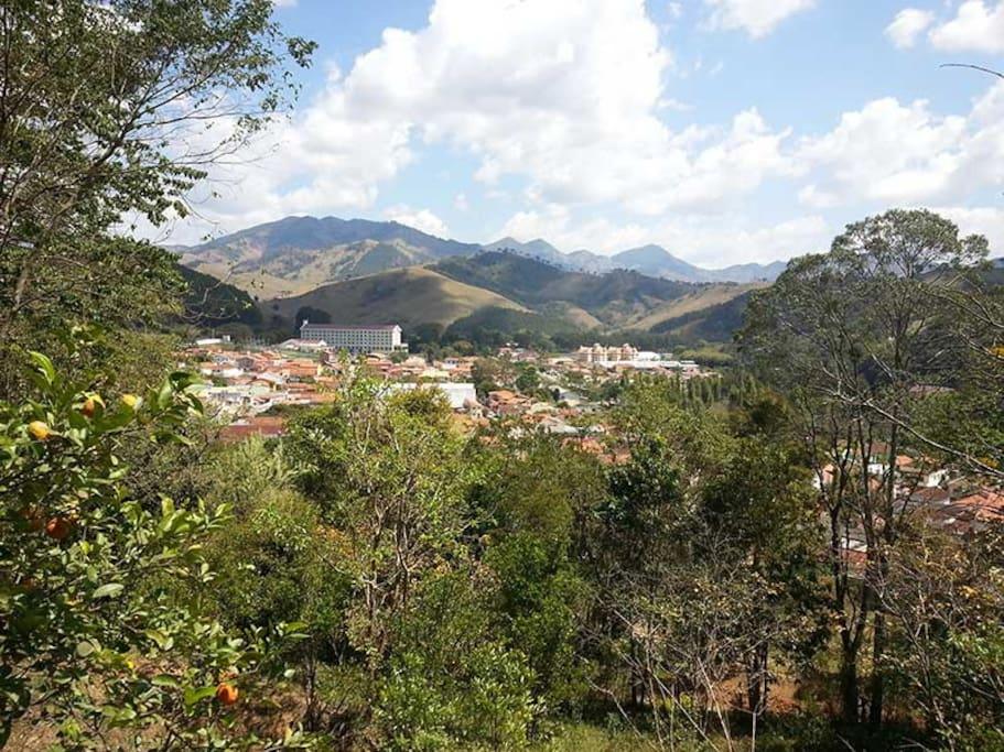 vista da cidade desde o sítio