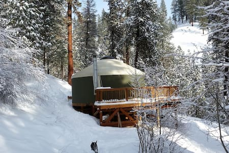 Sly Owl Ranch Yurt - Garden Valley - Yurt
