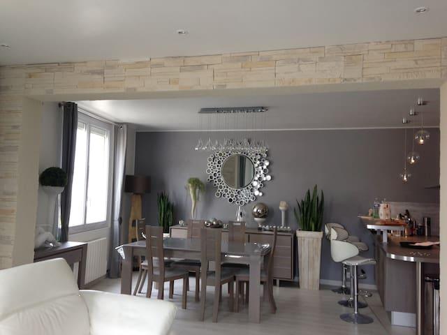 Appartement de standing 40mètres plage avec garage - Pléneuf-Val-André - Apartament