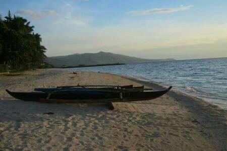 Beachfront Native Hut2 w/Cr @Badian - Barraca