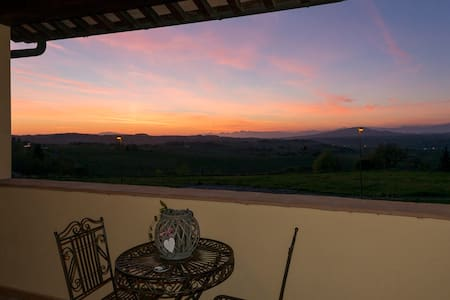 Zona panoramica colline di Firenze - Montespertoli