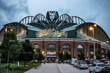 Cheap UBER ride to Miller Park!  3.2 miles away