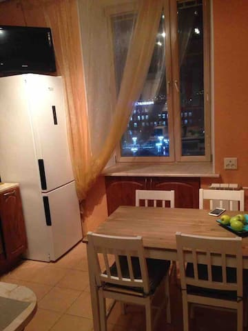 Cozy 3-room apartment in the heart of Murmansk