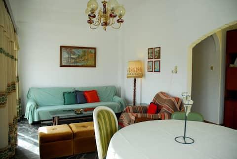 Beautiful two-bedroom apartment in Ziros village