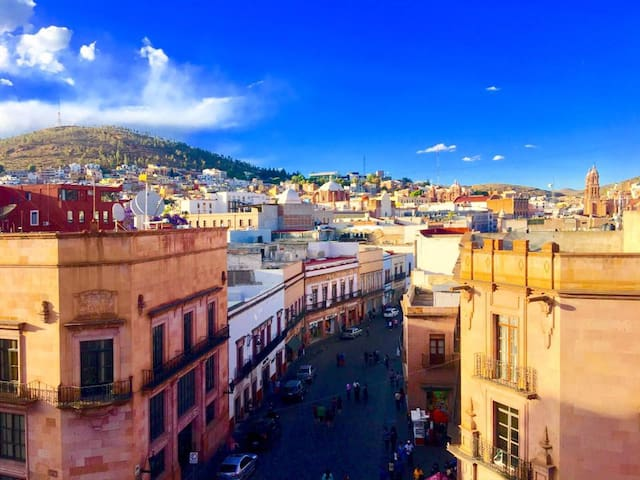 Stay in a World Heritage Building in Zacatecas