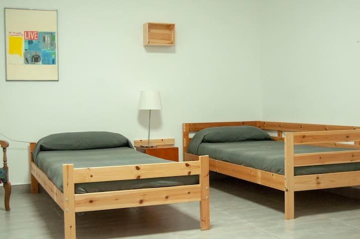 Estudio - Residencia nº 2 para 1 ó 2 personas