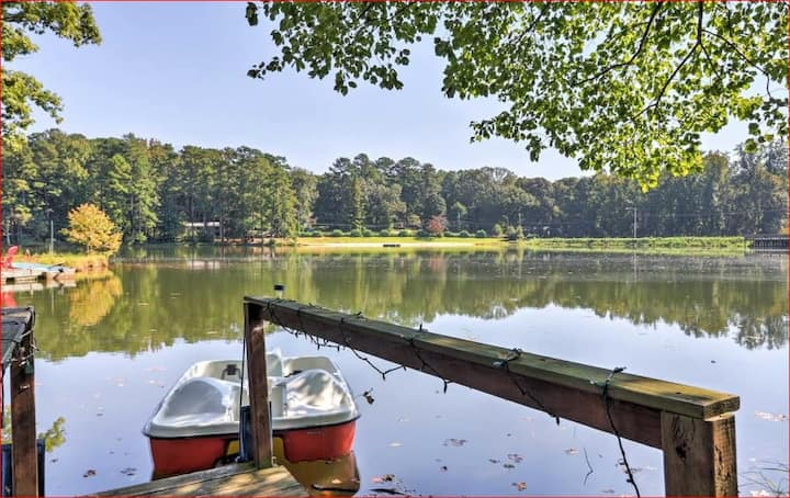 Zen Den on the Lake-vacation in Stone Mountain 🦋