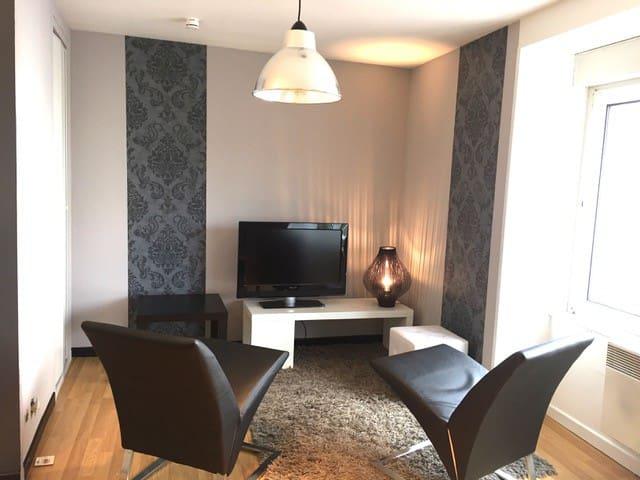 F2 moderne chic à deux pas du centre - Chaumont - 公寓