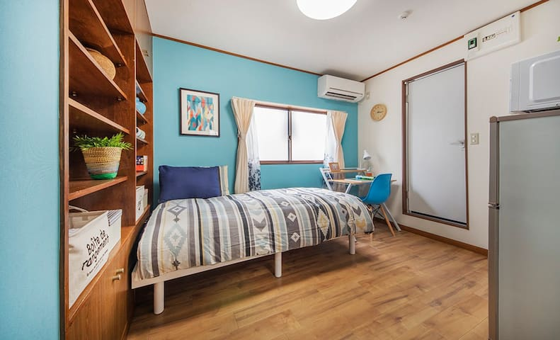 11min to SHIBUYA! Ideal for solo Travelers&Couples