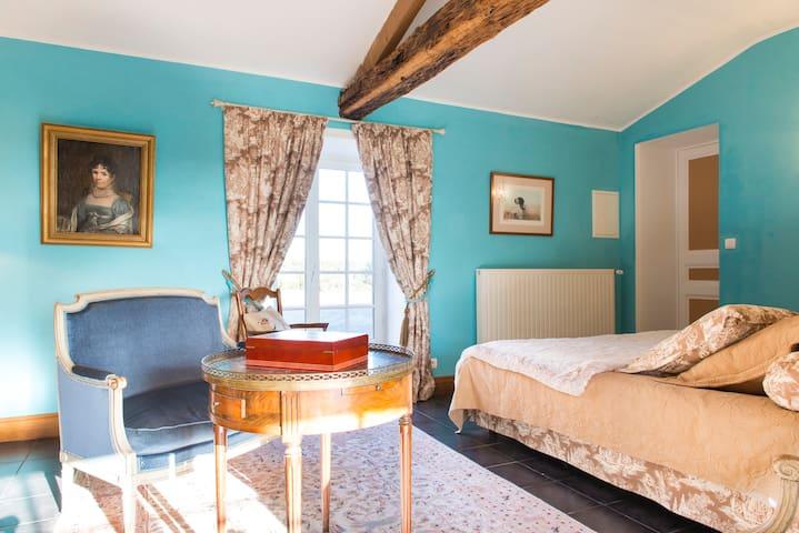 Belle chambre dans maison de charme - Chéméré