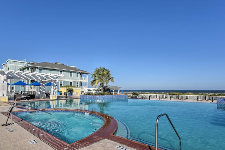 NEW! Sunny Point West Resort Escape in Galveston!