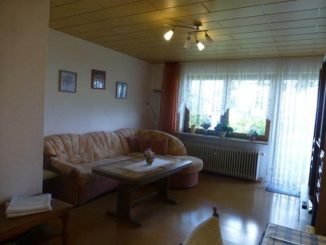 Ferienwohnung Margit (Maroldsweisach), Ferienwohnung (2) mit Südhanglage