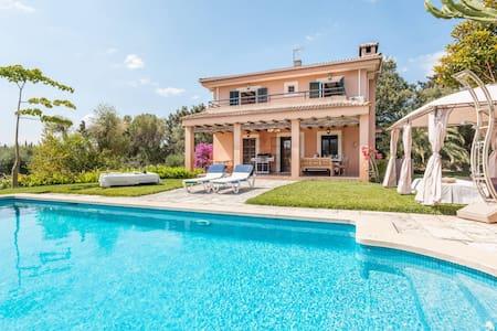 3. Finca-Zimmer + Bad, Pool, Garten... - Muro