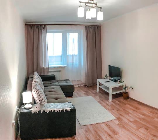 """Уютная квартира у Набережной и Арены """"Марий Эл"""""""