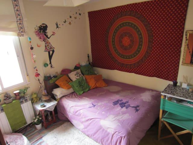 Habitacion grande, comoda y alegre - Madrid - Apartment