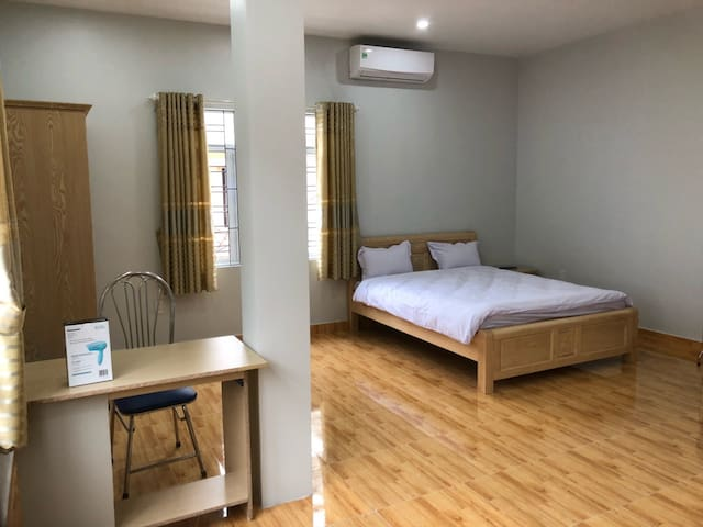 served apartment on Van Cao Str with 45sqm