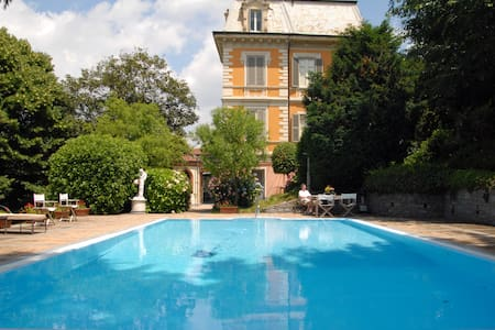 Villa I Cedri with swimming pool, Turin - Villa