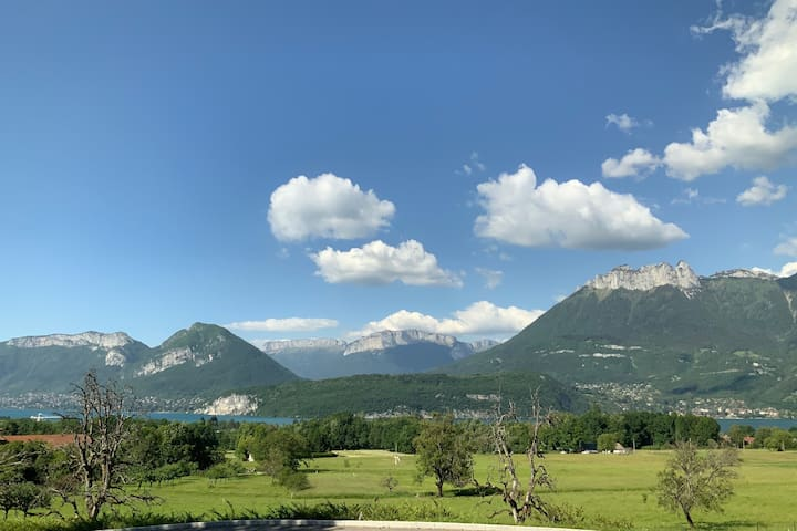 Lake Annecy/St Jorioz – Calm with spectacular view
