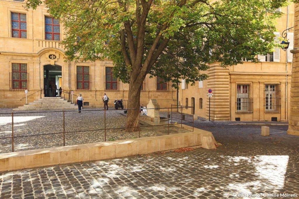 Adresse de prestige quartier mazarin t2 70m2 for Chambre de commerce aix en provence