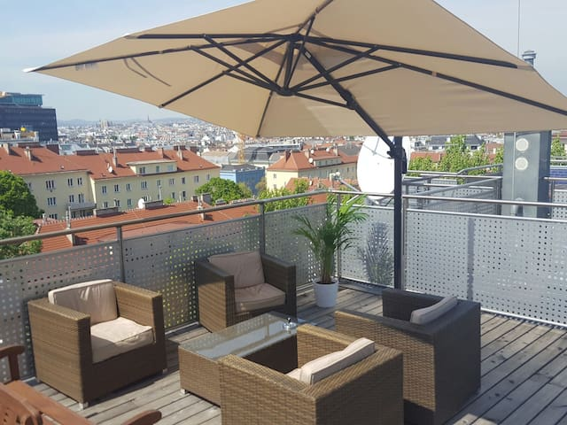 LOFT perfect for groups & families, PARKING FREE - Viena - Loft