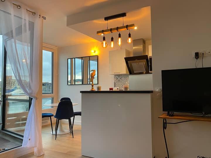 Nouveau ! Magnifique T2 en Duplex,  Deauville