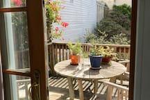 Back porch off sun room