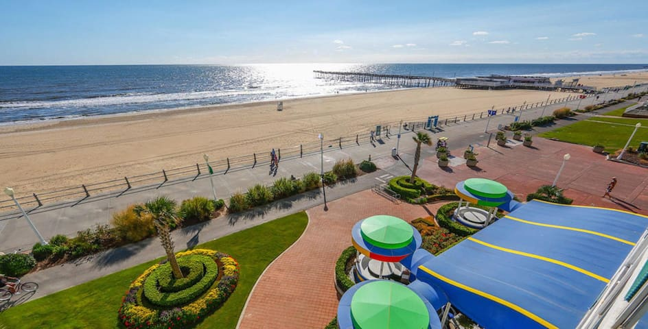 Ocean Front, One Bedroom Condo, Virginia Beach (A408)