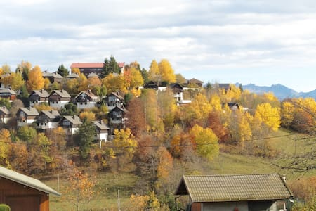 Comfortable apartment in mountains and near lake. - Thollon-les-Mémises - Appartement