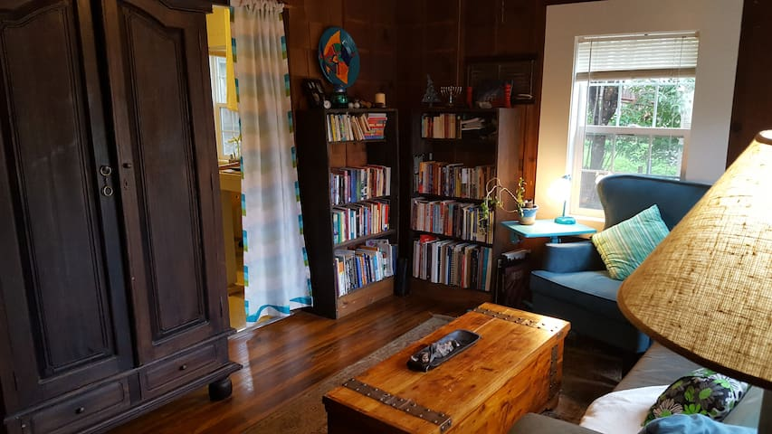Small, cozy and quirky but great location