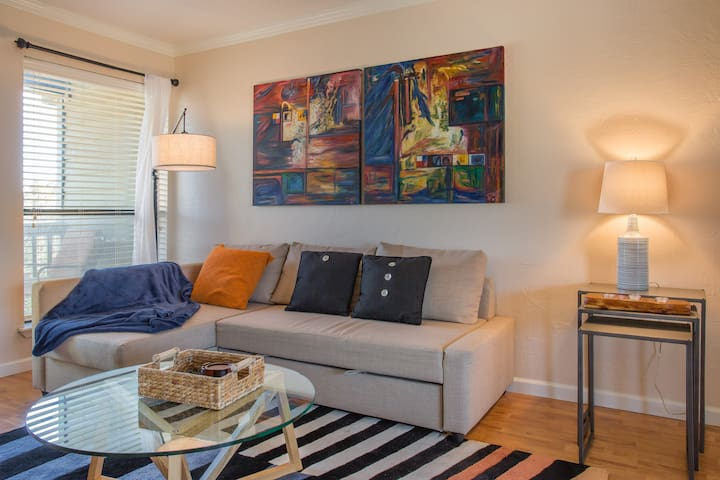 Chic 1 bedroom midtown/montrose condo