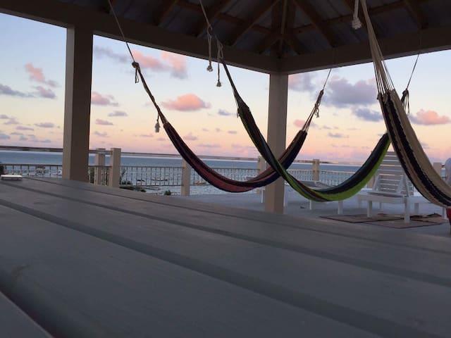 Caye Caulker Beach Hotel, Best view around!