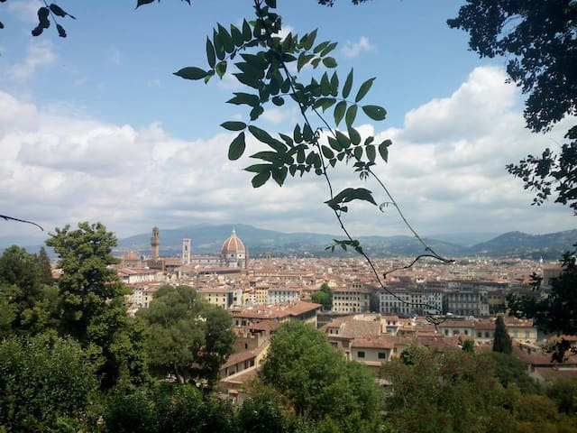 In  the  heart of  Florence