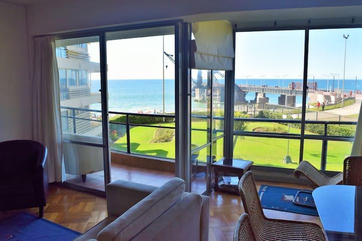 Habitación matrimonio pie de playa - Viña del Mar - Apartment