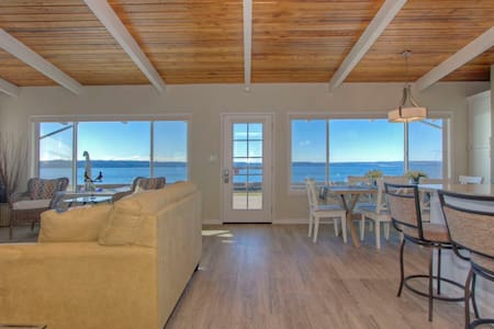 Beachfront House on Beach!!! - Stanwood
