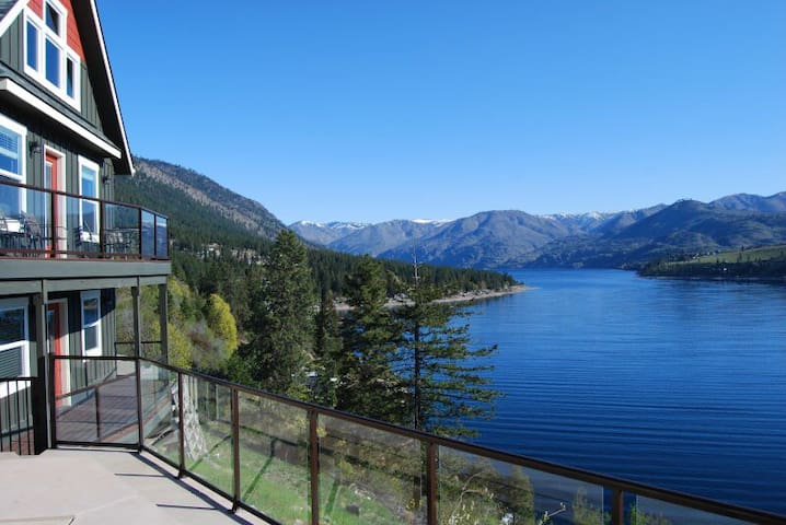 2 waterfront cabins with pool - Chelan - Hus