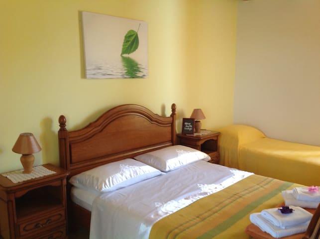 bedroom at first floor,comfortable bed linen,pilows