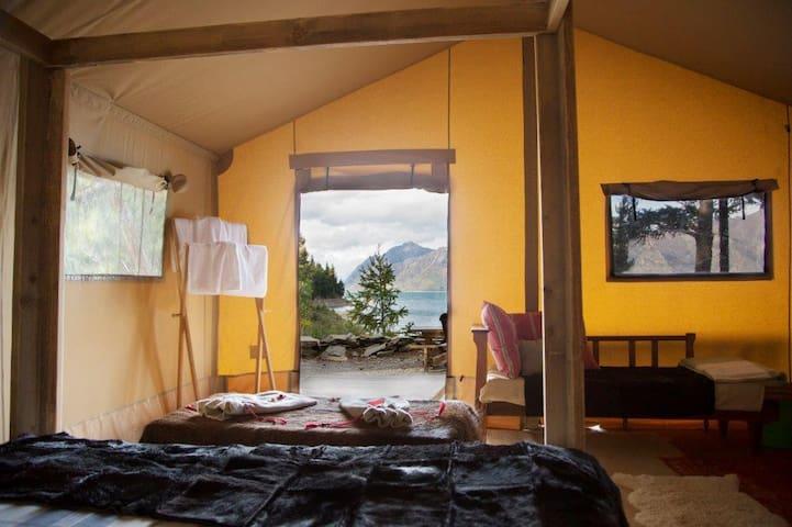 Luxury and Private Safari Tent