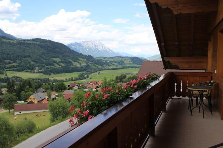 Landhaus Stocker - mountain view